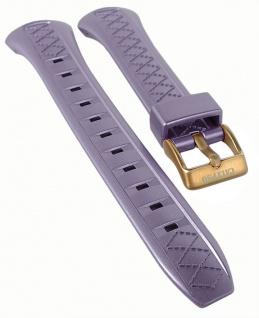 Calypso Ersatzband Kunststoff lila Schließe rosefarben Spezial Anstoß K5668/5
