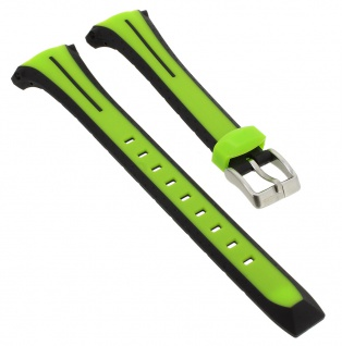 Calypso Sport Uhrenarmband Kunststoff Band grün/schwarz Schließe K5682/A