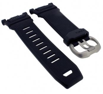 Timex Command Schock Ersatzband schwarz Band Kunststoff Uhrenarmband TW5M18200