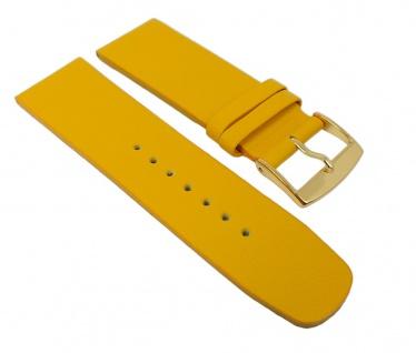 Graf Manufaktur Spree Damen Uhrenarmband Leder Band Gelb 27105G