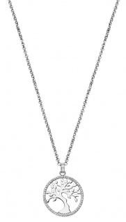 Lotus Silver Halsschmuck Collier Kette mit Lebensbaum Anhänger Silber LP1778-1/1