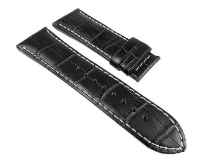Jaguar Swiss Made Damen Uhrenarmband Leder Band schwarz 18mm für Modell J646 J647 J648 J649