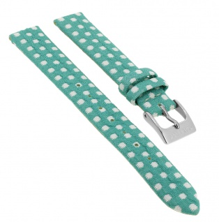 Calypso Uhrenarmband aus Textil/Leder grün mit Schließe silberfarben K5713/5 K5713