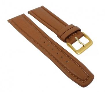 Graf Manufaktur Montana Uhrenarmband Walknappa Band XL Länge Braun 26351G