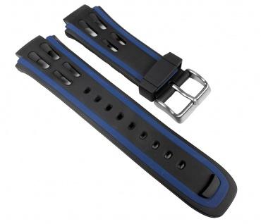 Calypso Uhrenarmband PV Band schwarz/Blau für K5527/5 K5527