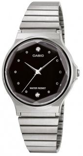 Casio Uhr Retro Collection Analog Edelstahl gelbgoldfarben mit Diamanten MQ-1000ED-1AEF