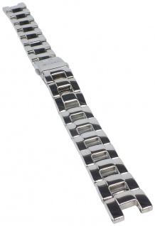 Casio Armband | Uhrenarmband Edelstahl Band Silberfarben für Sheen SHN-4013D