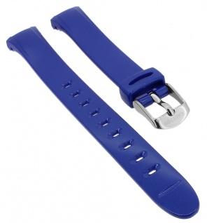Calypso Uhrenarmband blau Band aus Kunststoff mit Dornschließe K5749/6