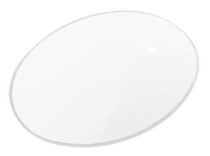 Minott MDT Ersatzglas 0, 7mm Mineral rund gewölbt dünn Uhrenglas 34323