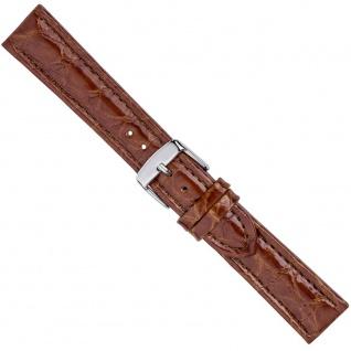 Uhrenarmband Ersatzband Leder Band Braun 26578S