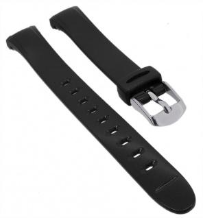 Calypso Uhrenarmband schwarz Band aus Kunststoff mit Dornschließe K5749/8