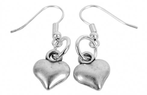 Minott Damen Ohrringe Metall Herz-Anhänger MT-03577