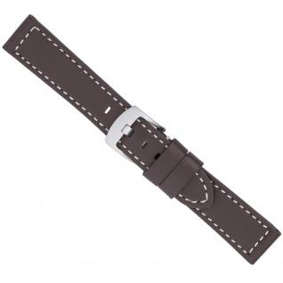 Uhrenarmband Ersatzband Leder Band Braun 26599S
