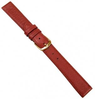 Hirschleder Uhrenarmband Leder Ersatzband Rotbraun Handgenäht 20685G