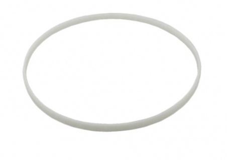 Lotus Dichtungsring in I-Form | I-Glasdichtung rund in weiß aus Kunststoff 15535