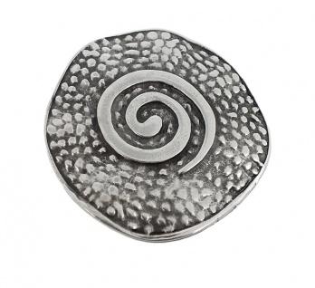 Minott Kette Schmuck Anhänger Spirale Messing im Used Look 27984
