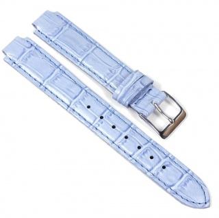 Casio Uhrenarmband Leder Band Blau für LTP-2064