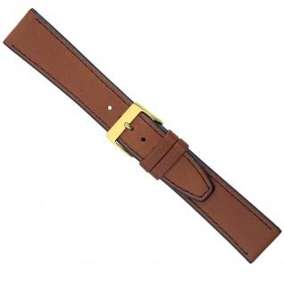 Uhrenarmband Ersatzband Leder Band Braun 26587G