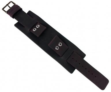 Bruno Banani NYX | Unterlageband 22mm aus Leder in braun glatt | BS3 BR21080