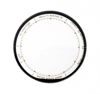 Casio Ersatzglas Uhrglas Mineralglas rund mit Aufdruck für PAW-1500T PRW-1500T