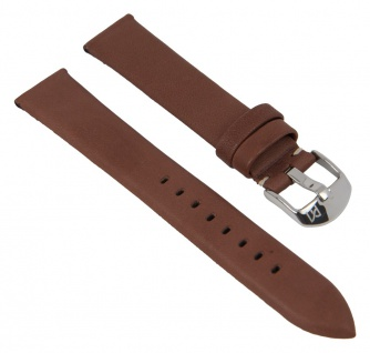 Minott Uhrenarmband echt Leder Breitdornschließe braun 27963