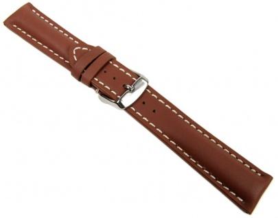 Swiss Chrono I Uhrenarmband Kalbsleder Cognac 20646S
