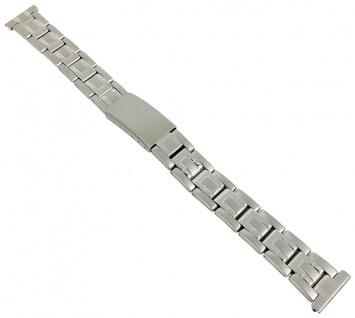 Minott Uhrenarmband 16mm Damen Edelstahl Band silberfarben 29690S