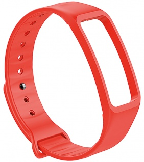 Atlanta Uhrenarmband Fitnessband rot Ersatzband Silikon weiches Band Smartwatchband
