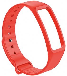 Atlanta Uhrenarmband Fitnessband rot Ersatzband Silikon weiches Smartwatchband
