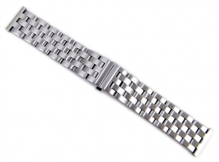 Minott Uhrenarmband Edelstahl Band Massiv 24mm 21163S