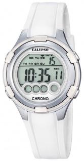 Calypso Damenarmbanduhr Quarzuhr Kunststoffuhr mit Polyurethanband Alarm-Chronograph digital alle Modelle K5692