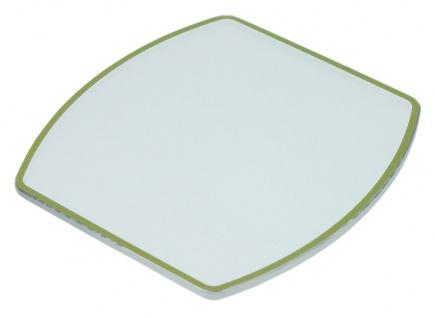 Junghans Automatic Uhrenglas Ersatzglas Saphir flach 027/4400 grüner Rand