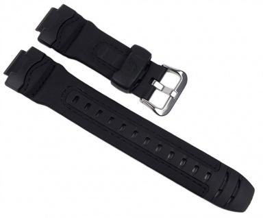 Casio Uhrenarmband Leder / Resin Band schwarz für G-314RL
