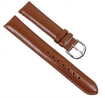 Casio Uhrenarmband Leder Band Braun 18mm für MTP-1095E