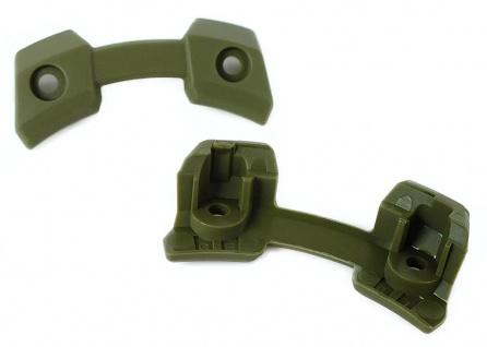 Casio G-Shock Ersatzteile 2x Gehäuseteile 3H / 9H Resin grün für GPW-1000KH-3AER
