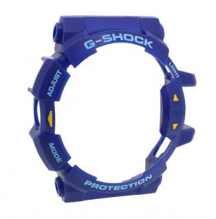 Casio G-Shock Lünette Bezel blau aus Resin für GA-400-2AER