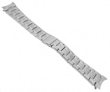 Festina Automatic Ersatzband 22mm Uhrenarmband Edelstahl Band matt gebürstet silbern F6847