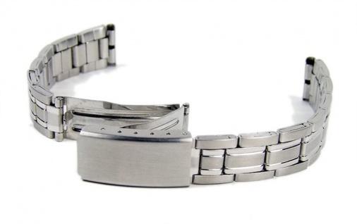 Edelstahl Uhrenarmband Band 14mm - 16mm 18301S