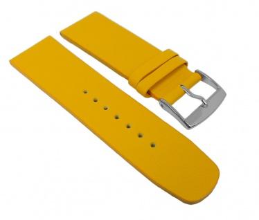 Graf Manufaktur Spree Damen Uhrenarmband Leder Band Gelb 27104S
