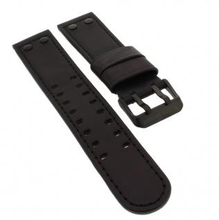 Bruno Banani Ares Ersatzband aus Leder in schwarz Doppeldornschließe BR21021 B14 903 301