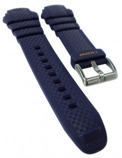Calypso Chrono Ersatzband Kunststoff blau Schließe silberfarben Spezial Anstoß K5683/7 K5683