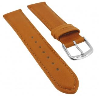 Uhrenarmband Ersatzband Leder Band Hellbraun 26584S