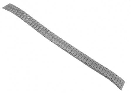 Timex Uhrenarmband Zugflexiband Edelstahl silbern 12mm für T2M826