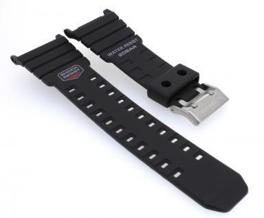 Herrenuhrarmband Casio | Ersatzband für G-Shock Resin schwarz für G-5500-1