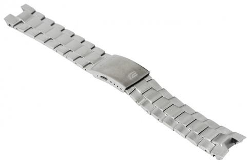 Casio Armband Uhrenarmband Edelstahl Band Silberfarben für Edifice EFR-529D