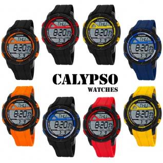 Calypso Herren Armbanduhr Quartz Kunststoff Alarm digital K5697