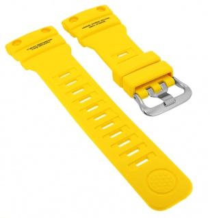 Casio G- Shock Gulfmaster Ersatzband gelb Resin Band Schließe silberfarben GN-1000-9A GN-1000