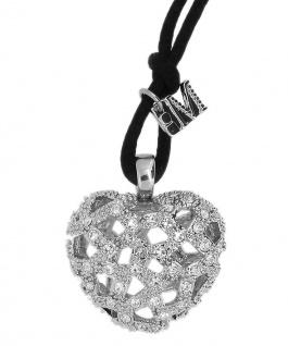 Morellato Collier Herzanhänger mit Kristallen Boule Länge ca. 85 cm SCV04
