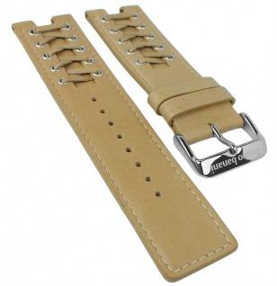 Bruno Banani XT Evolution Square ? Ersatzband aus Leder in beige ? BR20749 XS3 252 305