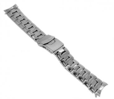 Festina Herren Uhrenarmband Edelstahl Band hochglanz/matt silbern für F16285 F16286 F16290